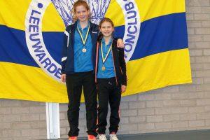 Eva en Denyce succesvol in DPC Leeuwarden