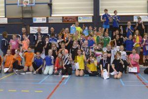 Jeugd speelde spannend Badminton Toernooi