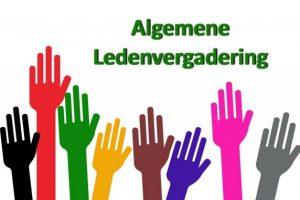 Dinsdag 5 november Algemene Ledenvergadering