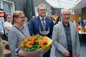 Gerrit Reinink krijgt lintje voor jarenlange inzet bij de vereniging